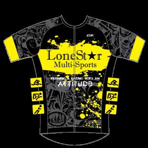 Lonestar Multisport NEW GoFierce Aero Tri Jersey Pro Edition