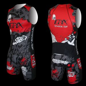 LimitedEdition Graffiti Airflow Tri Shorts (Red)